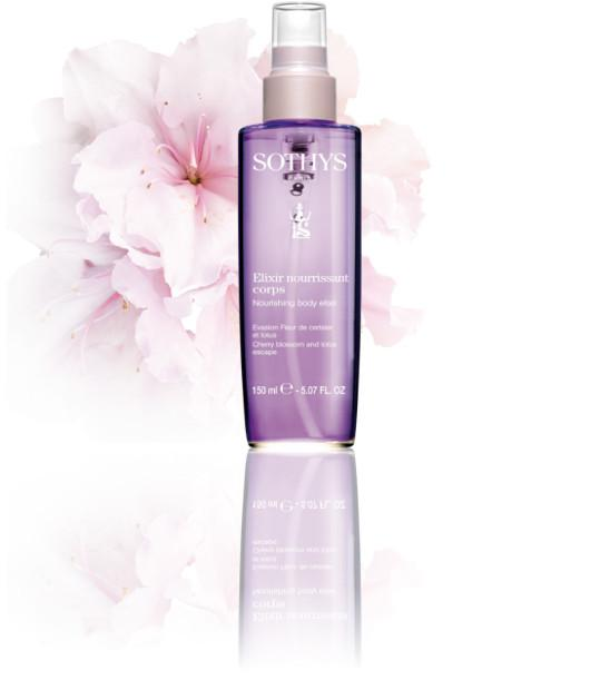Nourishing body elixir Cherry blossom and lotus escape